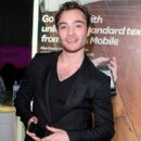 Ed Westwick Attends In-Store Signing