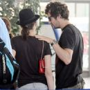 Marion Cotillard and Guillaume Canet at Figari Airport in France 07-26-2010
