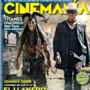 Johnny Depp, Armie Hammer - Cinemanía Magazine Cover [Mexico] (July 2013)