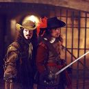 Nick Moran and Justin Chambers in Universal's The Musketeer - 2001