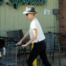 Charlize Theron – Shopping at Bristol Farms in Los Angeles
