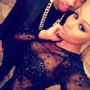 Blac Chyna and Tyga Celebrating New Years Eve in Las Vegas - December 31, 2013