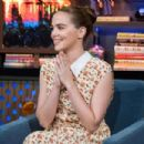 Zoey Deutch – Watch What Happens Live With Andy Cohen in NY