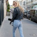 Stella Maxwell – Out in Paris