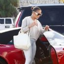 Jennifer Lopez – Heading to a gym in Miami