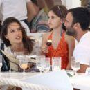 Alessandra Ambrosio and Jamie Mazur Boating While in Ibiza 7/3/2016 - 454 x 303