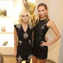 Natasha Poly – Versace Boutique Opening on Sloane Street in London