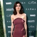 Alexandra Daddario – CFDA Variety and WWD Runway to Red Carpet in LA - 454 x 596