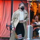 Gigi Hadid – Seen after shooting for Maybelline in New York