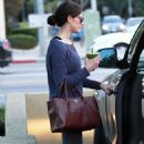Ashley Greene at the gym in LA (January 24)