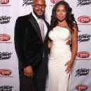 Rockmond Dunbar and Machiko Harris attend the 28th Annual Stellar Awards at Grand Ole Opry House on January 19, 2013 in Nashville, Tennessee - 368 x 594