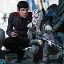 Star Trek Beyond - Zachary Quinto and Sofia Boutella