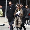 Alexa Chung & Alexander Skarsgard Out And About In NYC ( March 23, 2017) - 453 x 600