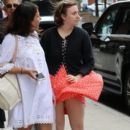 Lena Dunham is spotted outside her hotel in New York City, New York on June 6, 2016 - 392 x 600