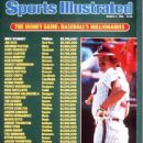 Mike Schmidt - Sports Illustrated Magazine Cover [United States] (4 March 1985)