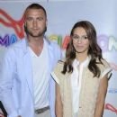Artur Boruc and Sara Mannei in party PUMA Social Zone - 378 x 562