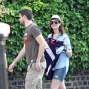 Anne Hathaway Out In Primrose Hill, June 26, 2010