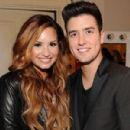 Demi Lovato and Logan Henderson