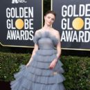 Thomasin McKenzie wears Valentino Dress : 77th Annual Golden Globe Awards
