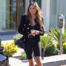 Chrissy Teigen – Shopping on Melrose Place in West Hollywood