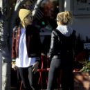 Ashley Benson and Cara Delevingne – Outside Fred Segal in West Hollywood
