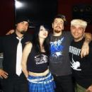 Sumo Cyco at the studio