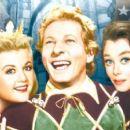 Angela Lansbury, Danny Kaye, Glynis Johns in
