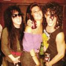 Mick, Nina and Stephen Pearcy