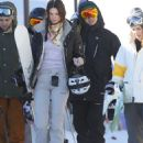 Jenner and Harry Styles  In Mammoth Calif January 2, 2013