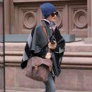 Rachel Weisz Autumn Street Style – New York 10/16/ 2016 - 454 x 651