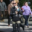 Paris Hilton Out About In Nyc