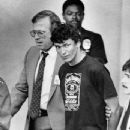 Richard Ramirez Wearing Jack Daniel's Tee Shirt on August 31, 1985 - Being brought in By Police - 347 x 400