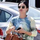 Lucy Hale – Out and about in LA