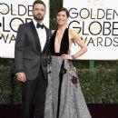Justin Timberlake  and Jessica Biel : 74th Annual Golden Globe Awards