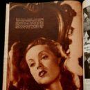 Danielle Darrieux - Movie Mirror Magazine Pictorial [United States] (October 1938) - 454 x 577