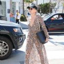 Sharon Stone in Sheer Dress out in Beverly Hills - 454 x 584