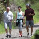 Lea Michele – Goes for a hike in LA - 454 x 302