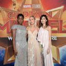Los Angeles World Premiere Of Marvel Studios' 'Captain Marvel' - 432 x 600