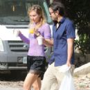 Suki Waterhouse and Diego Luna out in Mexico January 20, 2017