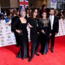 Kelly Osbourne, Ozzy Osbourne, Sharon Osbourne and Jack Osbourne attend the Pride of Britain awards at The Grosvenor House Hotel on September 28, 2015 in London, England.