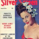 Susan Hayward - Silver Screen Magazine Cover [United States] (September 1944)
