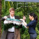Meghan Markle – Dedicate Queen's Commonwealth Canopy in Auckland