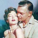 Ava Gardner and Clark Gable in Mogambo