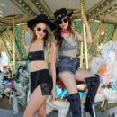 Victoria Justice and Madison Reed - #REVOLVEfestival Day 1
