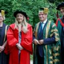 Ellie Goulding – Receiving an honorary Doctor of Arts degree at the University of Kent