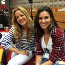 Daniela Ruah In The Mornings Of The Commercial Radio - June 9, 2015 - 454 x 454