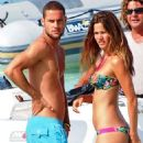 Malena Costa and Mario Suarez Mata in Ibiza