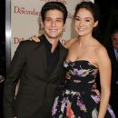 Shailene Woodley was supported by her The Secret Life of the American Teenager co-stars, Daren Kagasoff and Megan Park at the premiere of  The Descendants, November 15