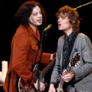 Jack White performs during Brendan Benson and friends at the Ryman Auditorium on December 18, 2013 in Nashville, TN