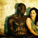 Peter Mensah and Marisa Ramirez